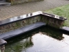 1999 Heverlee - bankirai-terras en formele vijver
